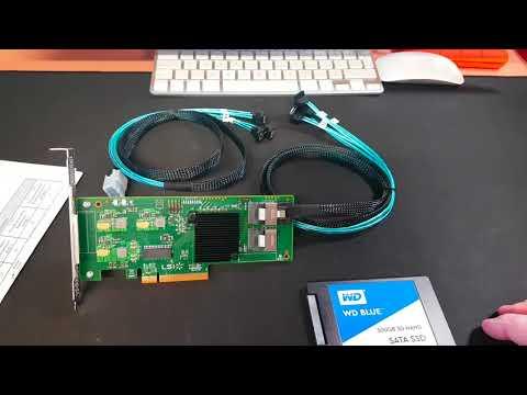 LSI SAS 9211-8i Host Bus Adapter With RAID