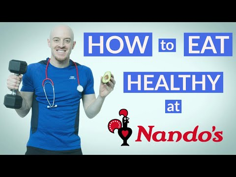 How to eat healthily at Nando's