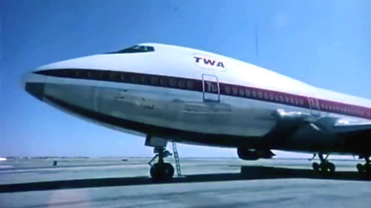 Boeing 747 Jumbo Jet Promo Spot  - 1971