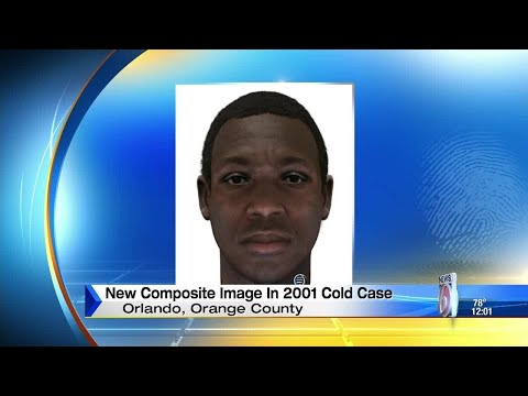 Police release DNA sketch in 2001 cold case
