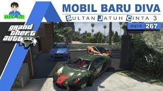 GTA 5 INDONESIA - REAL LIFE MOD - DIVA BELAJAR MOBIL #eps 267