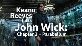 Keanu Reeves interviewed by Simon Mayo