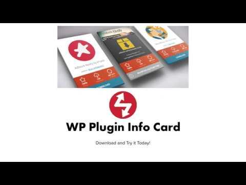 WP Plugin Info Card – WordPress plugin | WordPress org