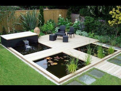 desain kolam dan taman rumah untuk terapi - youtube