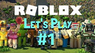 Let's Play Roblox On iOS / iPhone XS (Roblox Gamplay) - Part 1