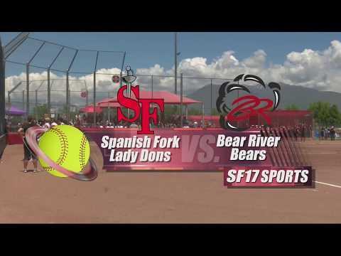 Spanish Fork vs Bear River, Softball   May 19, 2018