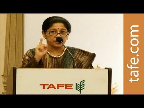 TAFE Annual Press Conference, 2012 - Chairman & CEO Mallika Srinivasan's Address