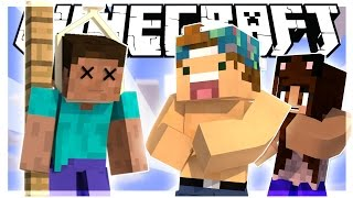 WHAT DID YOU JUST CALL ME? | HANGMAN IN MINECRAFT w/ YAMMYXOX! | Minecraft