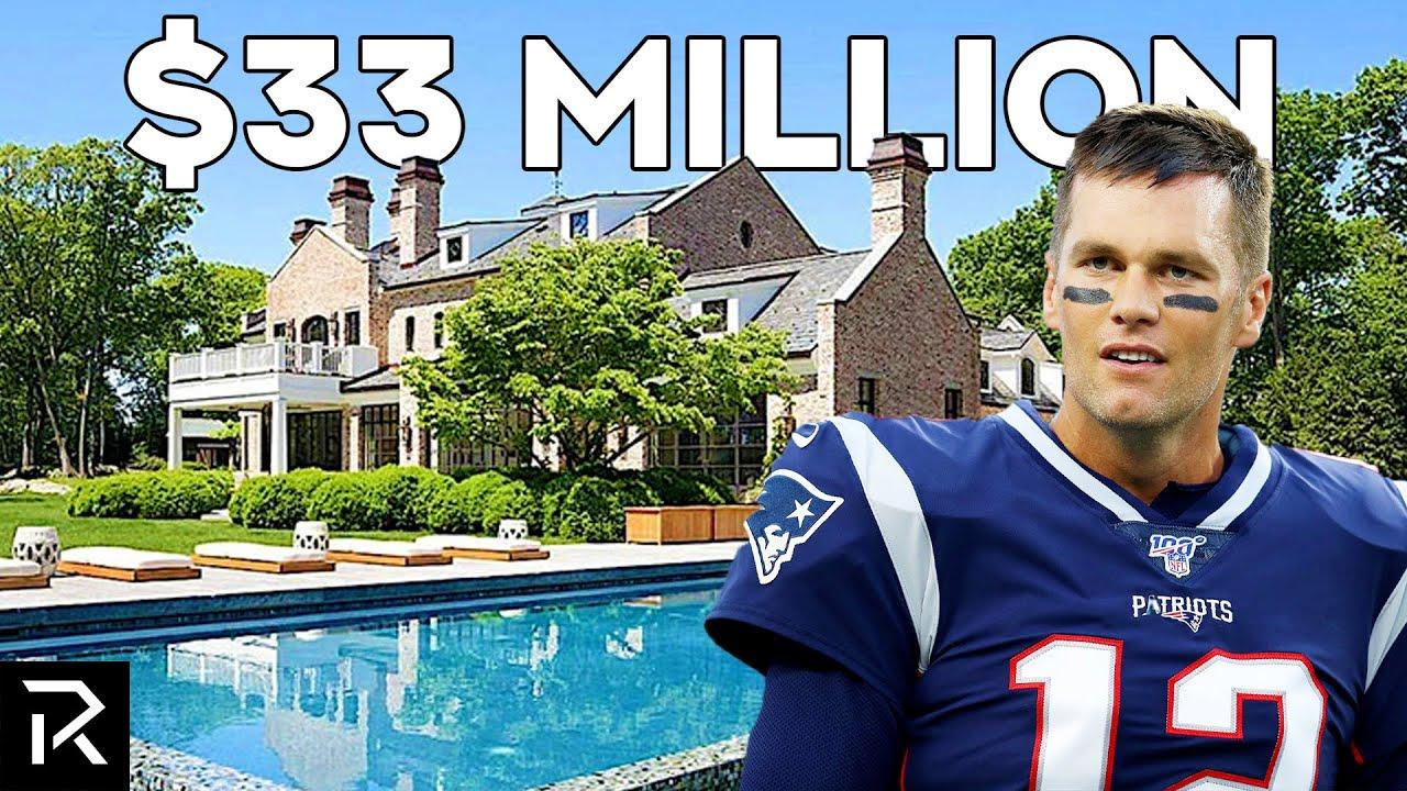 Inside Tom Brady's $33 Million Mansion