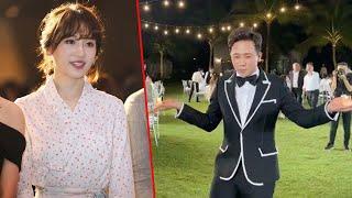Hari Won ngỡ ngàng khi lần đầu chứng kiến Trấn Thành say xỉn trong đám cưới Đông Nhi Ông Cao Thắng