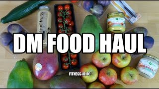 DM Food Haul #1 | VEGAN | FITNESS-ID.DE