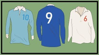 Why Football Shirt Numbers are Different By Country