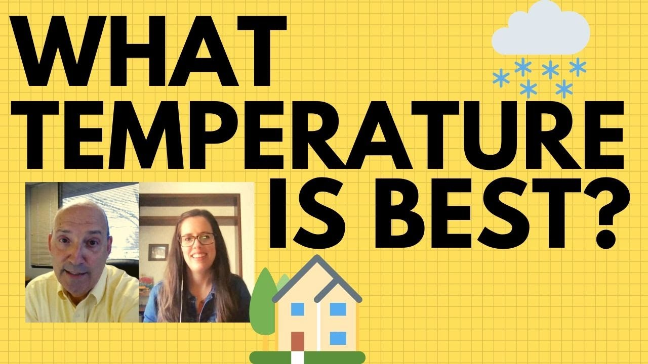 What Temperature Should Set Thermostat Tips You Leave For The Winter Youtube