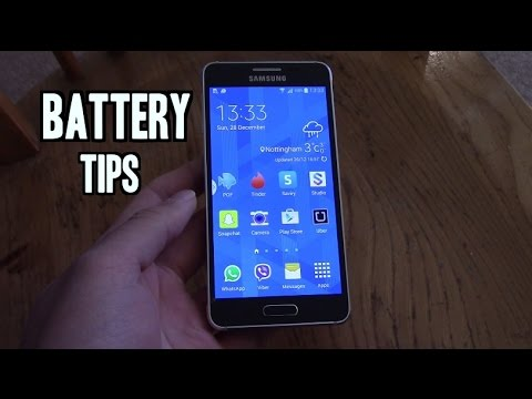 Samsung Galaxy Alpha Tutorial - How to Increase Battery Life!