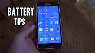 видео Аккумулятор для Samsung Galaxy Alpha