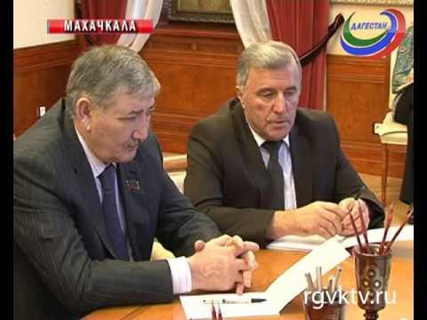 Глава Дагестана встретился с руководителями фракций, входящих в состав НС РД  VI созыва