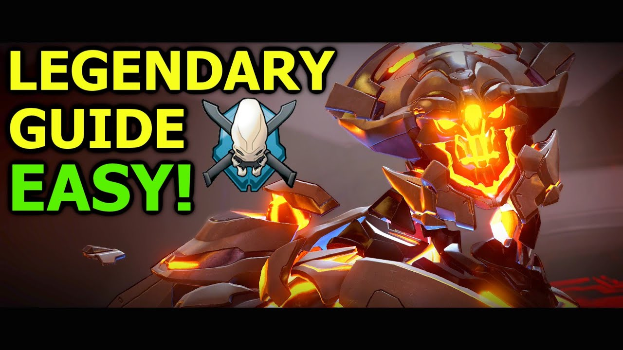 EASILY BEAT Warden Eternal Boss on Legendary Solo! Halo 5 Campaign Guide  (Halo 5: Guardians)