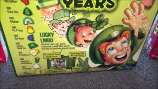 Opening Lucky Charms 50th Anniversary Limited Edition Cereal