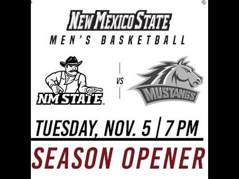 NMSU Vs Western NM Basketball 2019-2020