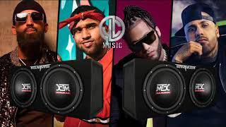 Wow (Remix) _ Bryant Myers Ft. Nicky Jam, El Alfa, Arcangel y Darell – (Bass Boosted)