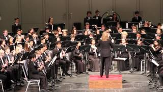 cbda 2016 all state high school concert band performed vesuvius by frank ticheli