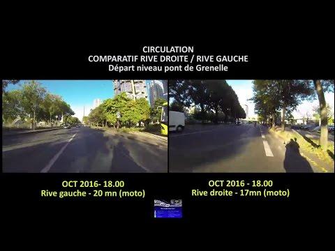 PARIS CIRCULATION rive gauche ou rive droite