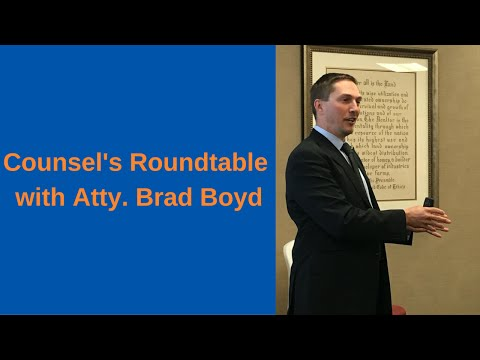 Encore Presentation - Counsel's Roundtable