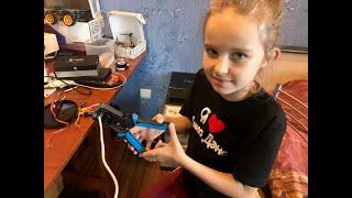 """Робототехнический проект на базе Arduino - """"Кормушка для Животных"""""""