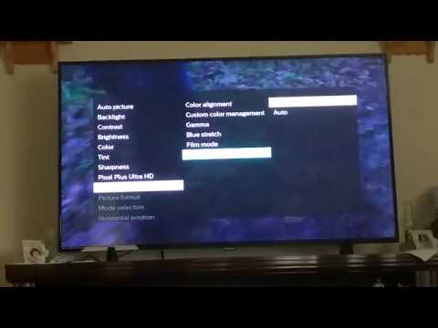 How to get HDR High Dynamic Range Mode on Philips 5000 Series 4K HD TV