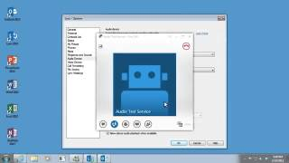 Training  Set up Lync 2013  Set up your audio in Lync 2013   Video 4 of 5 1