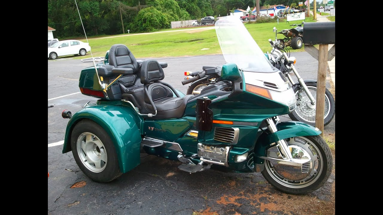 1996 Honda Goldwing Trike Youtube