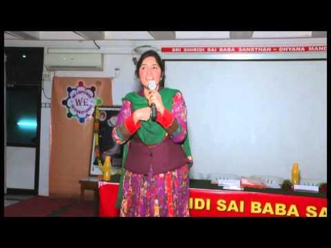 Padma Pothukuchi class at We Foundation-Hyderabad