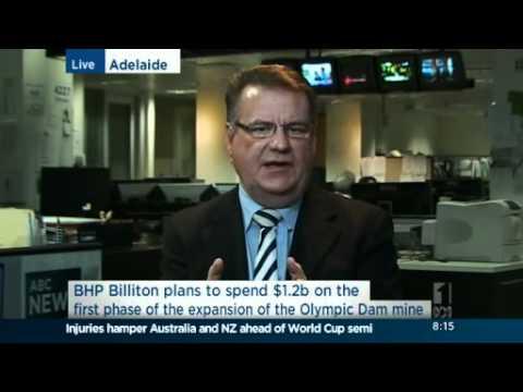 Foley on Olympic Dam mining deal