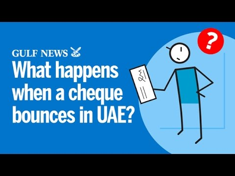 What happens when a cheque bounces in UAE?