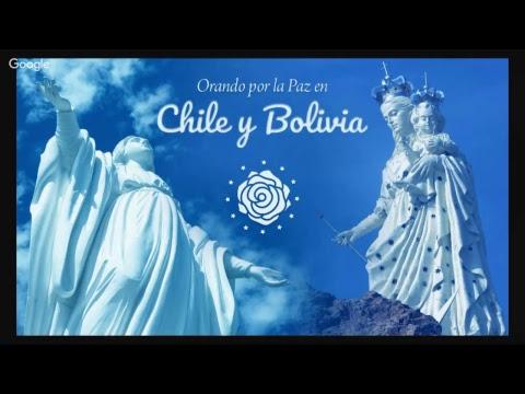 Orando por la Paz en CHILE y BOLIVIA • 26 de mayo • 10h (Santiago) / 11h (Brasília)
