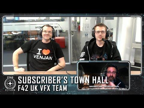Star Citizen: July Subscriber's Town Hall w/ VFX Team