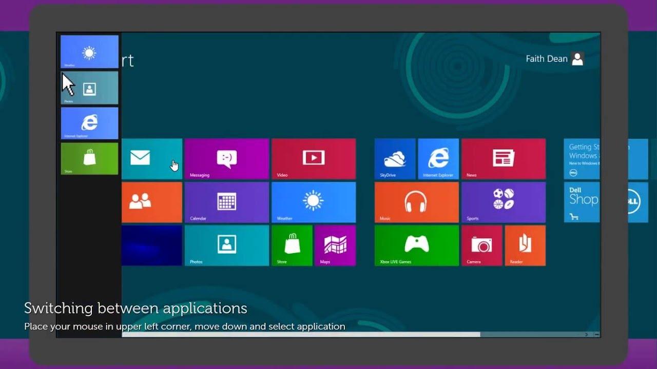 new look of windows 8.1 - YouTube
