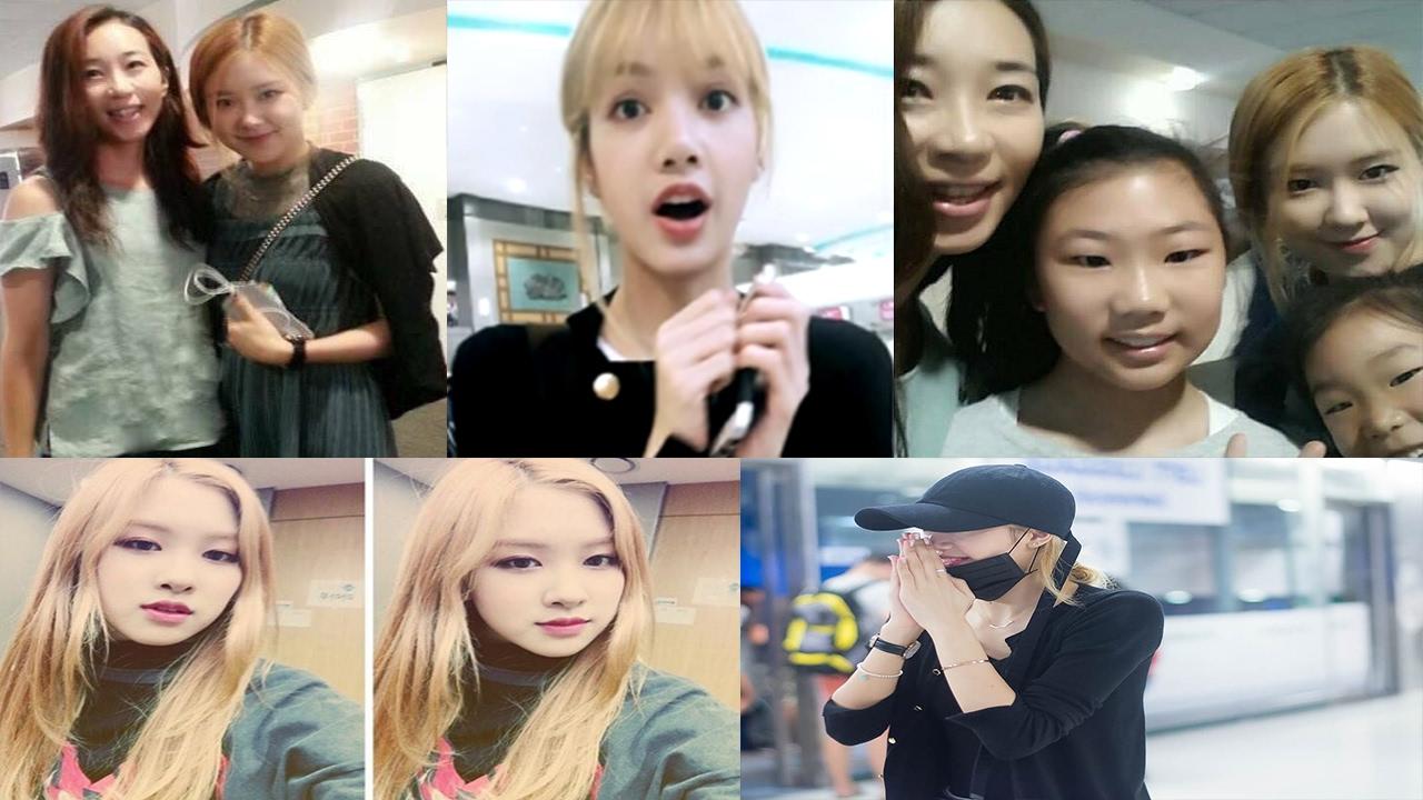 Blackpink Rose Goes Home Lisa Gets Ambushed Jennie Visits Thailand