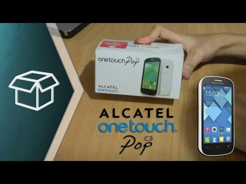 Unboxing & Review Alcatel One Touch Pop C3