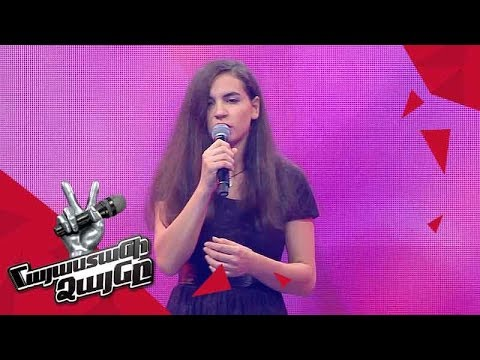 Anna Danielyan sings 'Piece by Piece' - Blind Auditions - The Voice of Armenia - Season 4