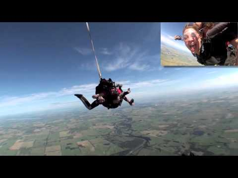 Michelle Skydiving @ Skydive Big Sky - YouTube