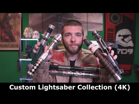 My Custom Lightsaber Collection