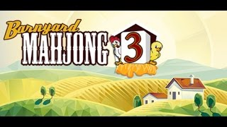 Barnyard Mahjong 3 - Обзор Скотный Маджонг для детей.
