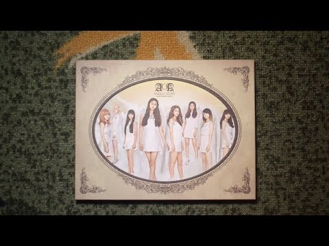 Unboxing AOA 에이오에이 1st Single Album Angels' Story