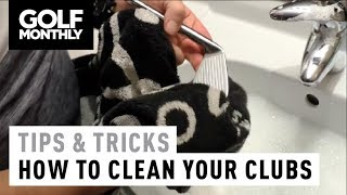 How to clean y๐ur golf clubs I Tips & Tricks I Golf Monthly