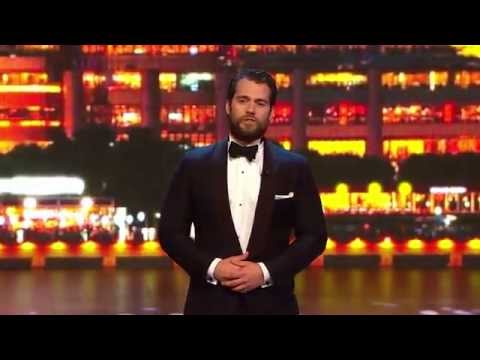Henry Cavill Presents Sports Award In Shanghai