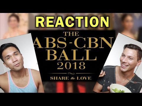 ABS-CBN BALL DRESSES FASHION REVIEW
