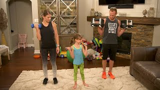 Are You Fitting In Fitness? Try These Busby Family Workouts! | OutDaughtered