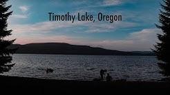 camping at timothy lake, oregon
