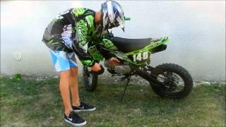 Présentation dirt bike 140cc Mini mx
